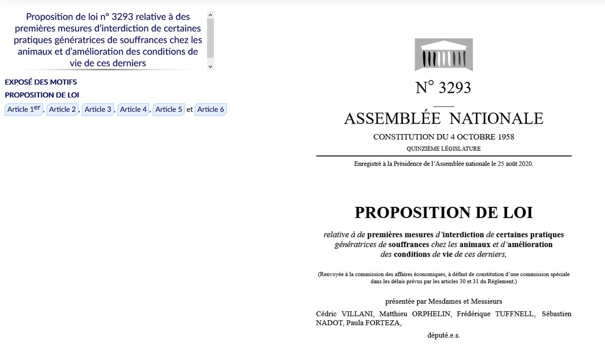 Projet de loi 3293