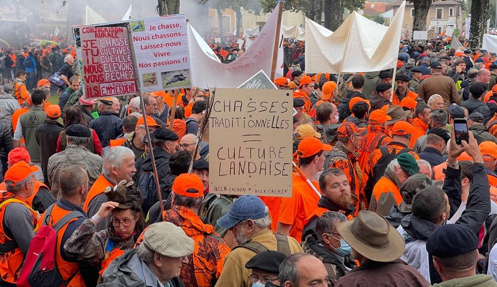 Manifestation Mont de Marsan