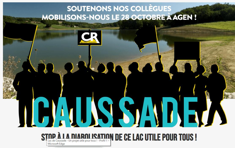 Lac de Caussade