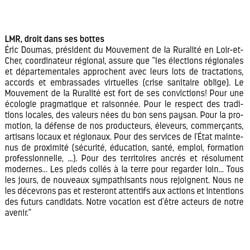 Article Le Petit Solognot