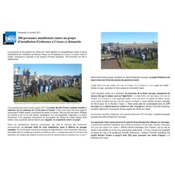 Article france Bleu Auvergne